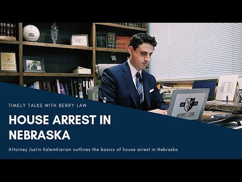 How do I Qualify for House Arrest?   Nebraska Defense Lawyers