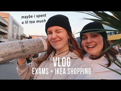 Come To IKEA With Me + Exam Season! VLOG