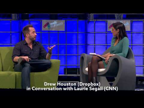Web Summit 2014 - Drew Houston in conversation with Laurie Segall