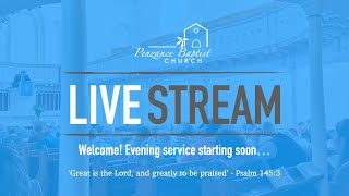 PBC Evening Service Live Stream - Sermon - 19th July 2020