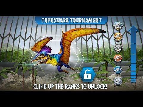 Cenozoic Hybrid And Tupuxuara Tournament Jurassic World The Game