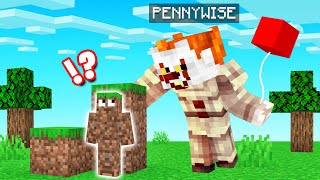 HIDE & SEEK But With PENNYWISE! (Minecraft)