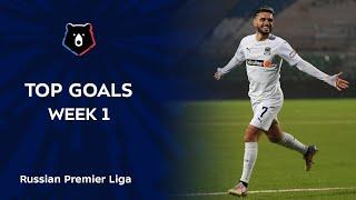 Top Goals Week 1 RPL 2020 21
