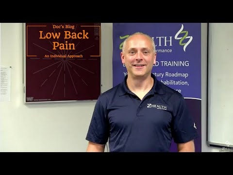 Lower Back Pain Relief: an individual approach