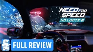Need For Speed No Limits VR Review on Daydream VR