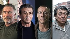 50 ACTION STARS ⭐ Then and Now   Real Name and Age 2019