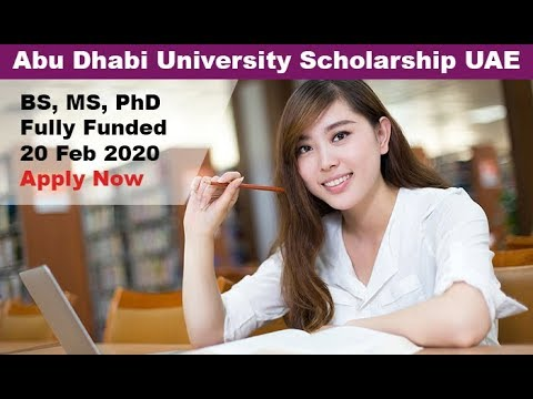 Abu Dhabi University Fully Funded Scholarships 2020 in UAE