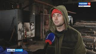 В посёлке Мирный Угловского района продолжает действовать режим ЧС из-за пожара в котельной