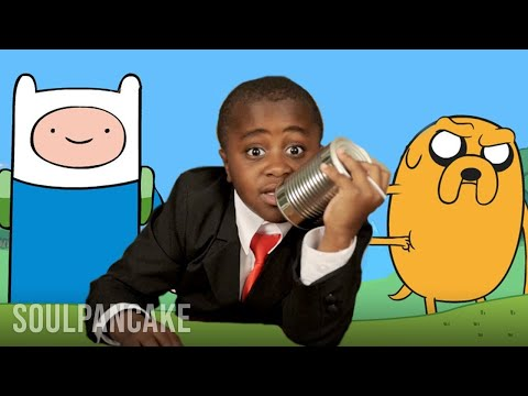 Kid President Interviews Pen Ward - ADVENTURE TIME Creator!