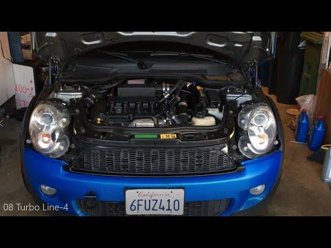 Turbo Oil Line Replacement Install - Mini Cooper S R56 Video 8