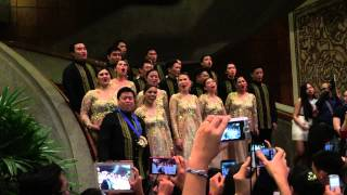 Jingle Bells Calypso -- Philippine Madrigal Singers