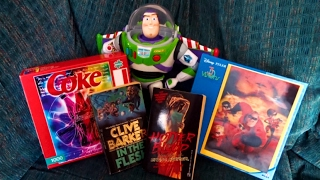 Goodwill Thrift Store Haul #2 - Horror Novels, Puzzles, and Pixar