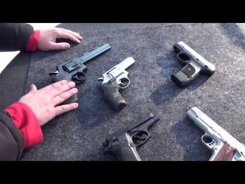 Revolver o Pistola ¿Cual es el Mejor? ¿Cual Compro?