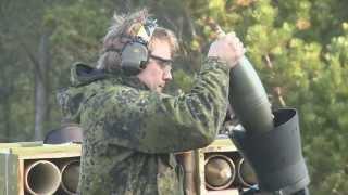 Danske Artilleri Regiment affyrer sine sidste skud