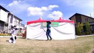 ゴールデンウィークに行われた「手裏剣戦隊 ニンニンジャー・ショー」で...