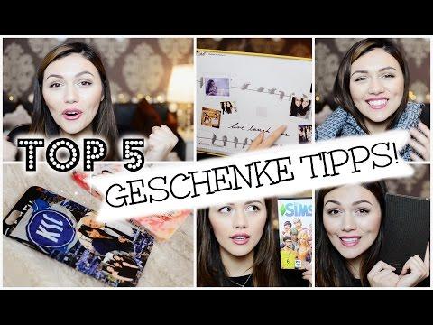 TOP 5 GESCHENKE TIPPS! :-)