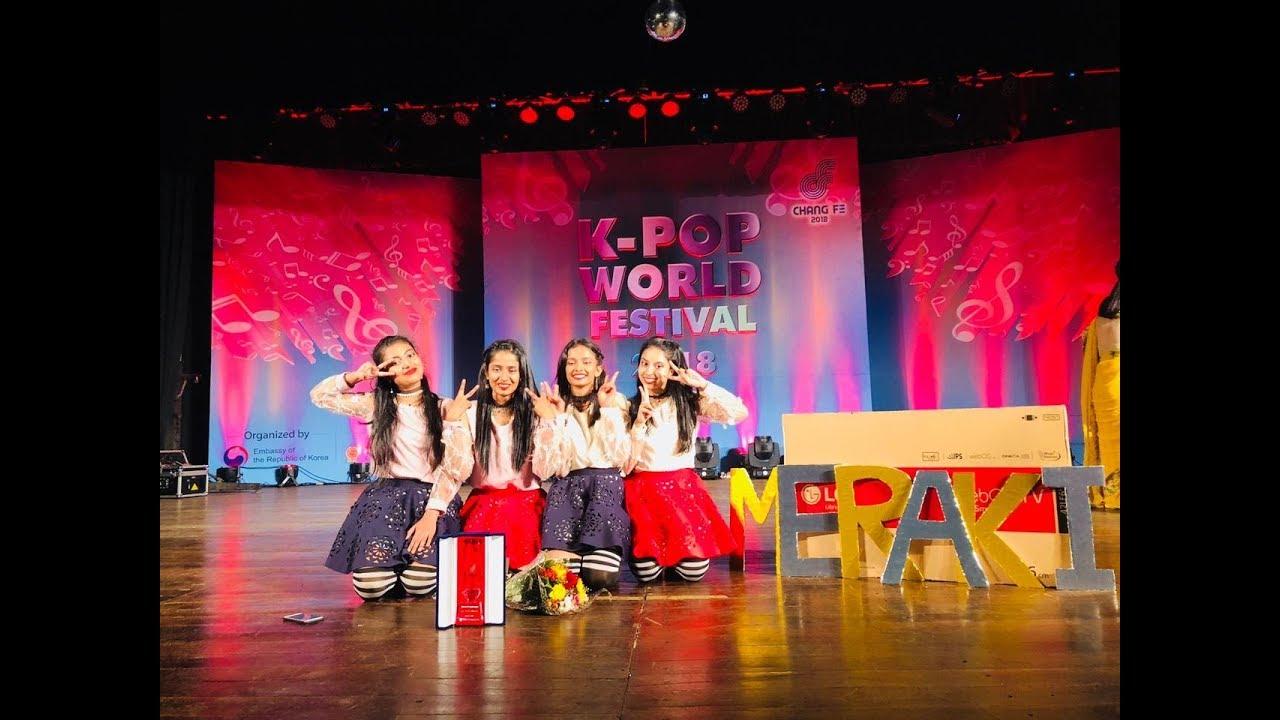 Meraki K-POP World Festival 2018 Sri Lanka 1st Prize Winner's Performance - As If It's Your Las