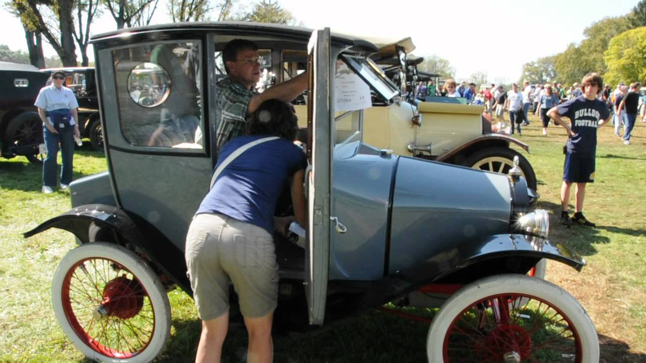 Hershey Car Show >> 1914 Trumbull Cycle Car at Hershey - YouTube