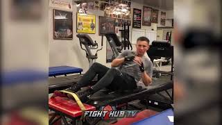 TAKE A SNEAK PEAK INTO GENNADY GOLOVKIN'S TRAINING SESSION FOR CANELO REMATCH!