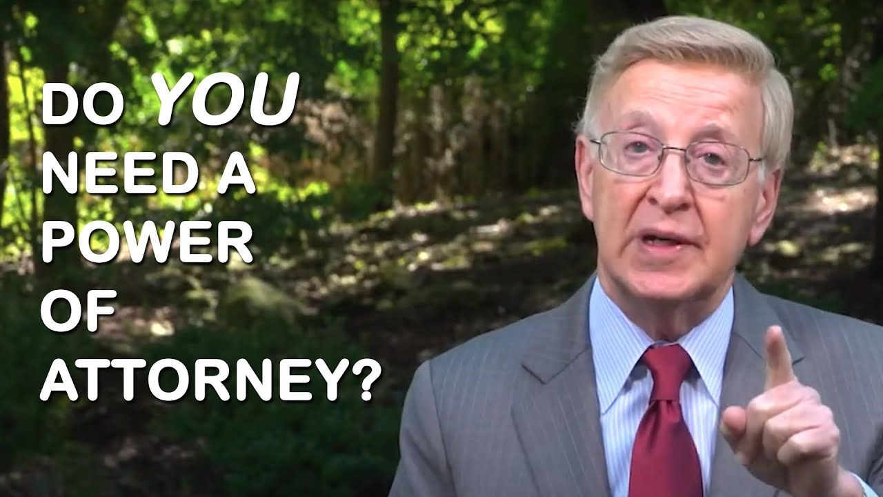 Why do you need a Power of Attorney?