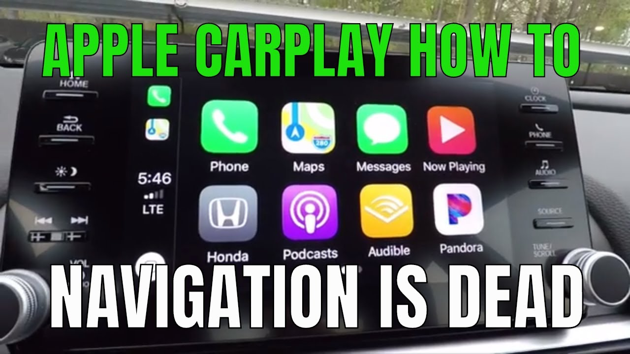 HOW TO USE APPLE CARPLAY & WHY NAVIGATION IS DEAD