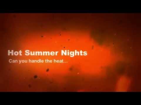 Hot Summer Nights book trailer