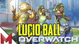 OVERWATCH LUCIO BALL! - SUMMER GAMES - OVERWATCH  GAMEPLAY - Ep19