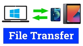 How to Transfer Files between Ipad / Iphone and Windows Computer without using any Software screenshot 2