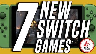 7 CRAZY NEW Switch Games JUST ANNOUNCED!! + Custom Console Giveaway! (2019 Nintendo Switch Games)