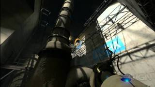 Portal 2 Walkthrough: Chapter 6 The Fall (Part 1)