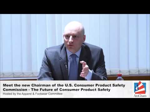 (Preview) Meet the new Chairman of the U.S. Consumer Product Safety Commission, Jan 13