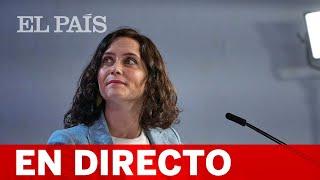 DIRECTO #4M | AYUSO presenta un avión con la imagen de MADRID