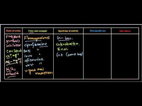 fluoroquinolones antibiotics