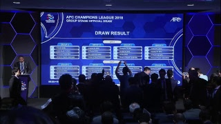 AFC Champions League 2018 Official Group Stage Draw thumbnail