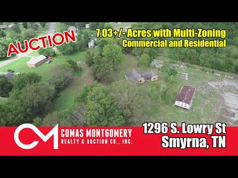 Multi-Zoning Property For Sale In Smyrna - Auction Oct 22nd - 1296 S. Lowry Street