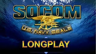 PS2 Longplay [012] - SOCOM: U.S. Navy SEALs - All Objectives Walkthrough | No commentary