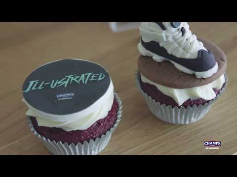 Jordan Sneaker Cupcakes featuring Eat Good NYC | Ill-ustrated, Ep. 40