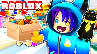 Escape From The TOY STORE Obby In Roblox!