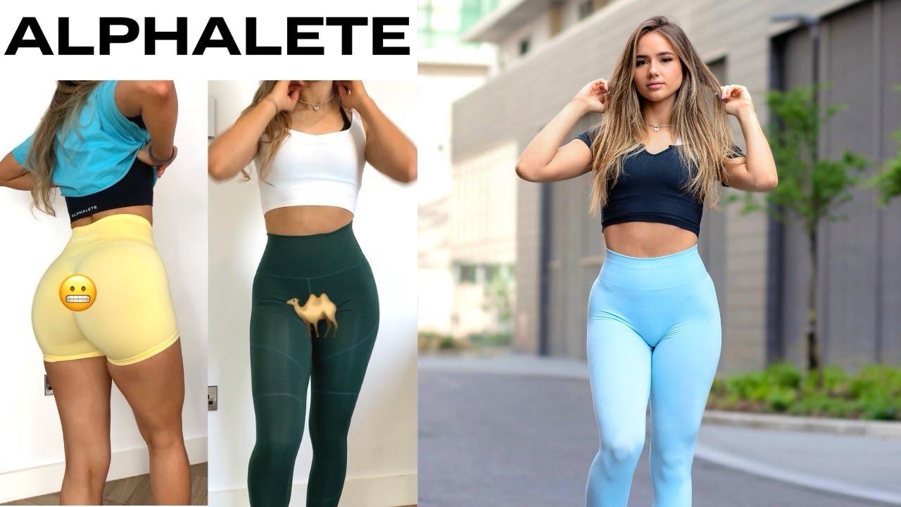 ALPHALETE Try-on Haul 2021 | Amplify, Leggings, Shorts & More!