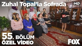 Haftanın birincisi Alime hanım ve gelini Hülya oluyor! Zuhal Topal'la Sofrada 55. Bölüm