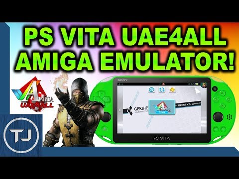 PS Vita How To Install Amiga Emulator! (Uae4All2)