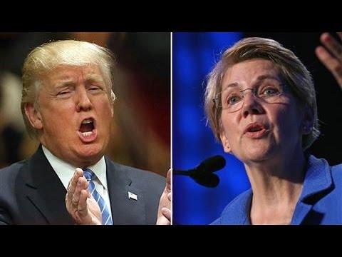 War of Words: Trump vs. Warren