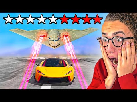 I TRIED TO ESCAPE A **9** STAR WANTED LEVEL in GTA 5!