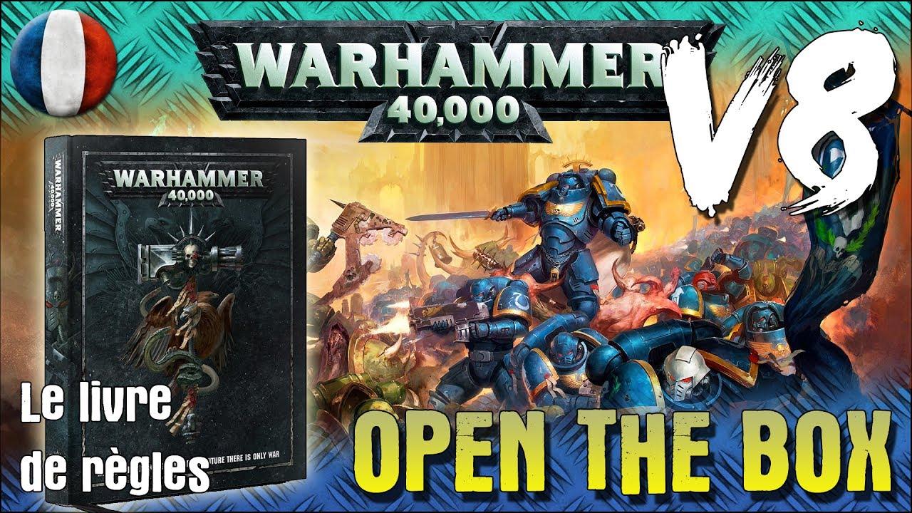 Livre V8 Dark Imperium Warhammer 40k Open The Box Vf Fr