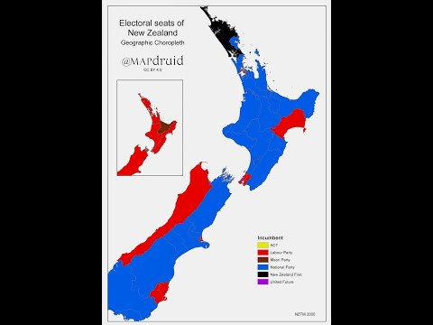 New Zealand electorates