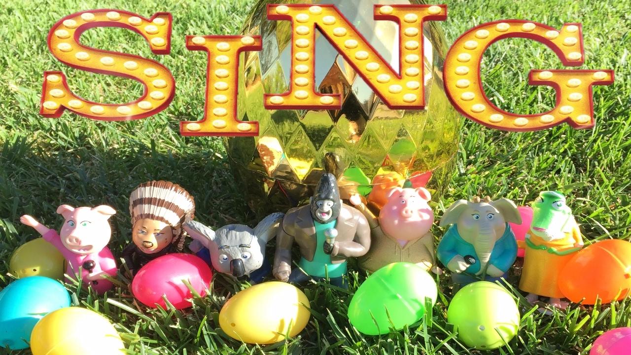 Sing Toys Easter Egg Hunt Rotten Egg Hunt Golden Egg