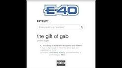 E-40 - The Gift of Gab Album Update [BayAreaCompass]