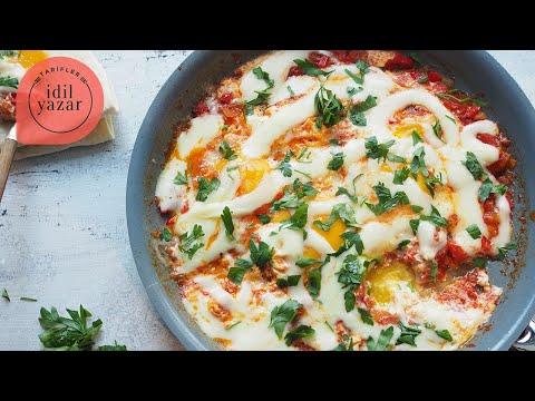 Meksika Kahvaltısı (Huevos Rancheros) Tarifi - İdil Yazar - Yemek Tarifleri