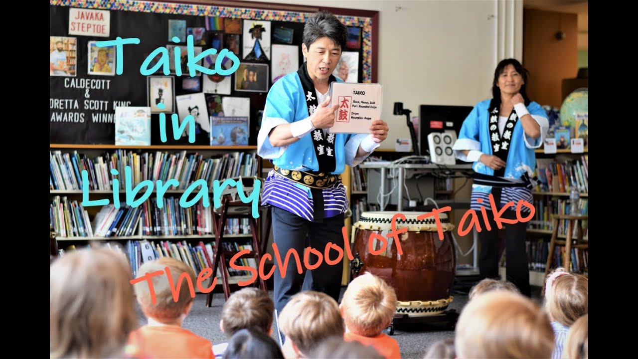 The School of TAIKO / Taiko in Library