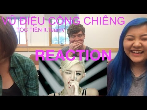 VŨ ĐIỆU CỒNG CHIÊNG | TÓC TIÊN ft.TeamV - REACTION (VPOP) w/ ANALYZE [VIETSUB]